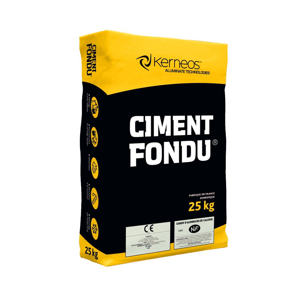Ciment aluminos Fondu, intarire rapida, 25 kg imagine MatHaus