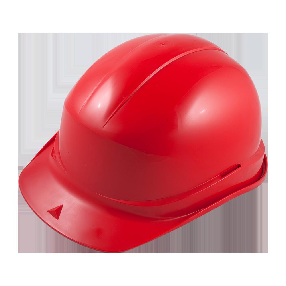 Casca de protectie cu suspensie Zirco 2680 A, plastic, fixare in 6 puncte, rosu imagine MatHaus.ro