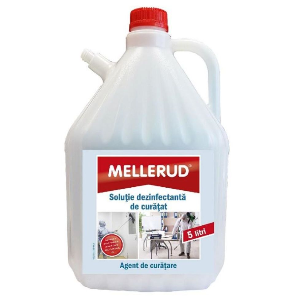 Solutie dezinfectanta de curatat, Mellerud, 5 L imagine MatHaus.ro