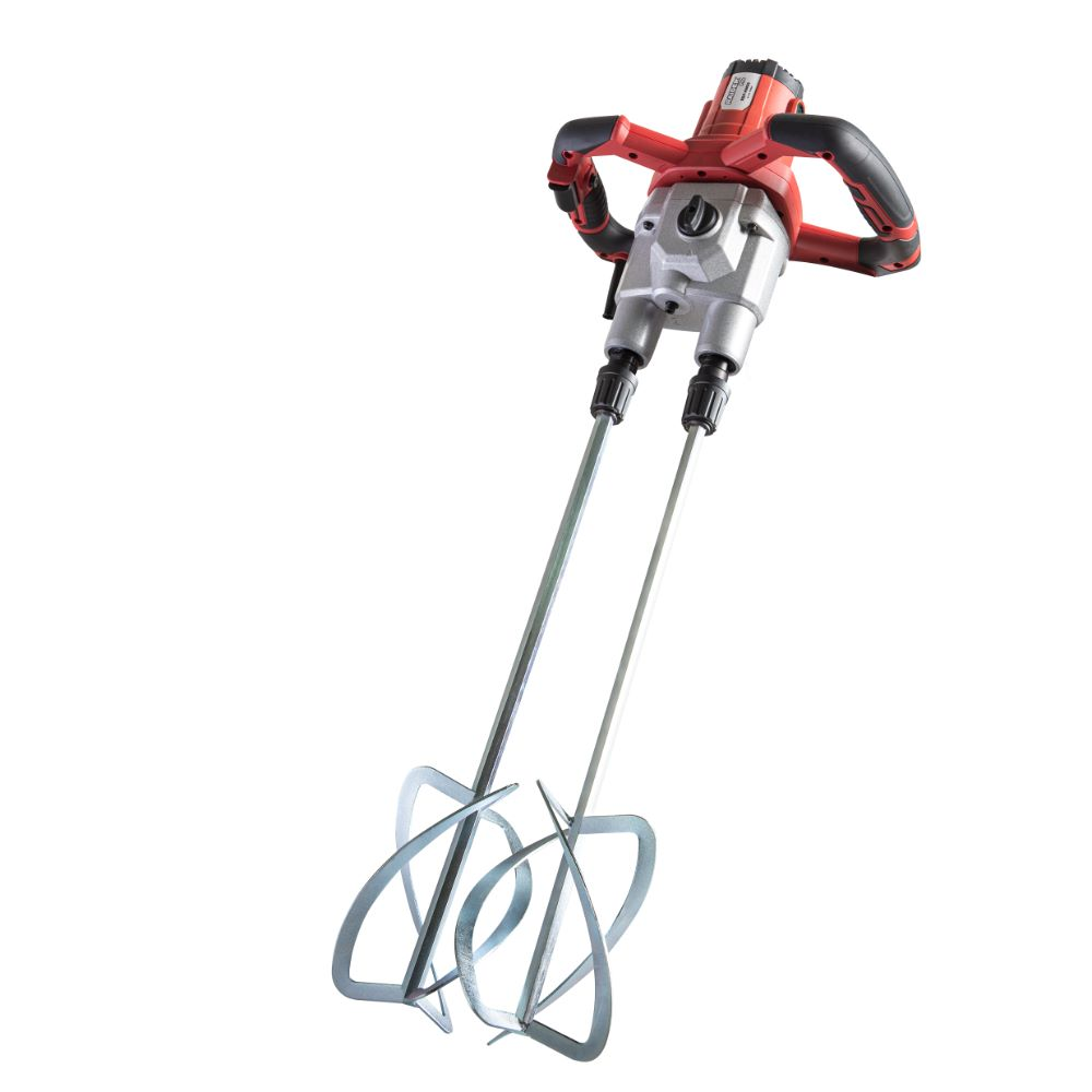 Amestecator materiale constructii electric Raider RDP-HM09, 1600 W, 460 - 620 rpm, 2 palete x 120 mm
