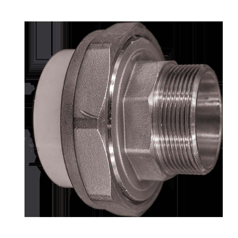 Olandez PP-R FE Vesbo, polipropilena, alb, 63 mm x 2 inch