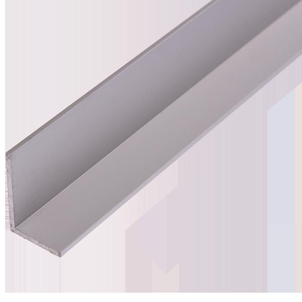 Cornier laturi inegale, aluminiu, 30 x 20 x 2 mm, L 1 m imagine 2021 mathaus