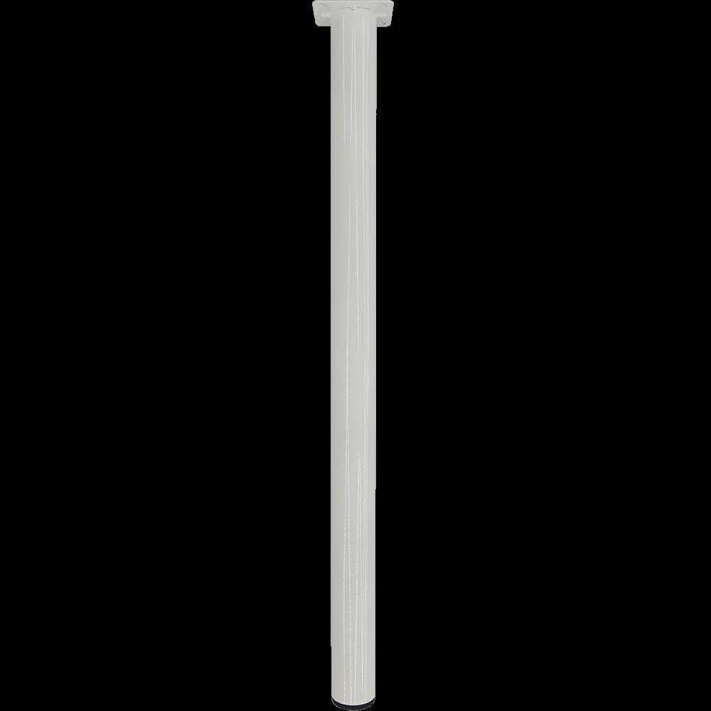 Picior rotund pentru masa, metal, alb, 500 mm imagine 2021 mathaus