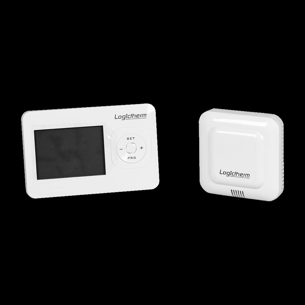 Termostat de ambient pentru centrala, wireless, Logictherm R7RF, programabil, digital, 230 V mathaus 2021