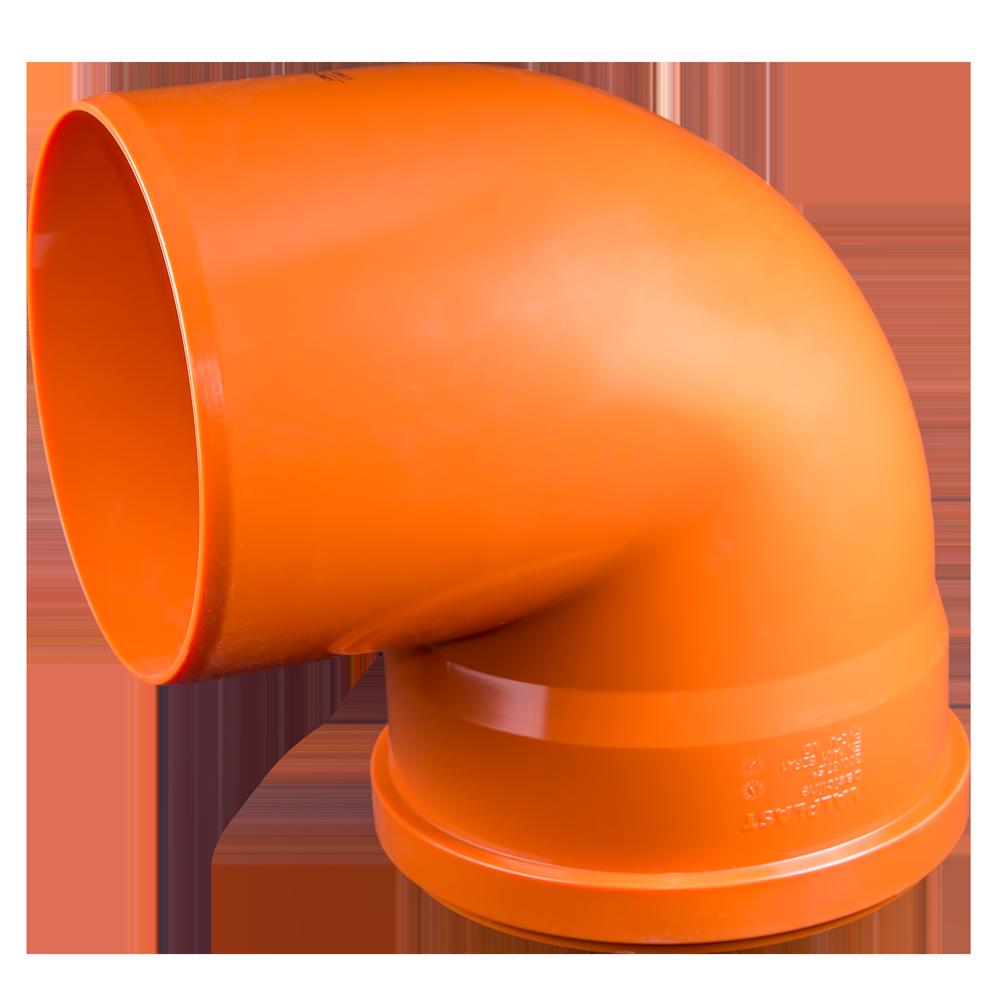 Cot PVC pentru canalizare exterioara Valplast, 200 mm, 87 grade mathaus 2021