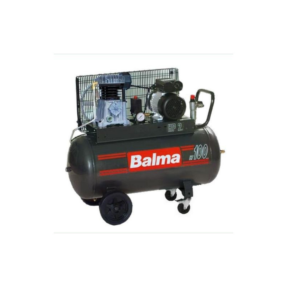 Compresor de aer Balma NS12-100-CM3, 2200W, 10 bar, 100 L imagine 2021 mathaus