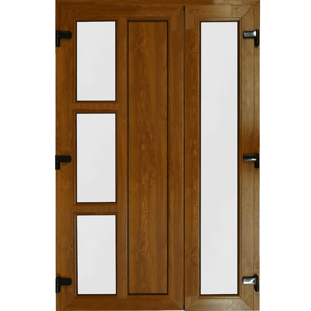 Usa PVC pentru intrare, stejar, 135 x 205 cm, stanga mathaus 2021