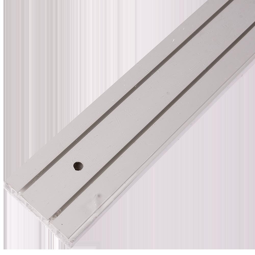 Sina perdea tavan SH2, PVC alb, 2 canale, 400 cm mathaus 2021