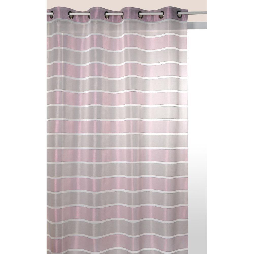 Perdea Nacre 100% poliester, gri-violet 138, 145 x 240 cm