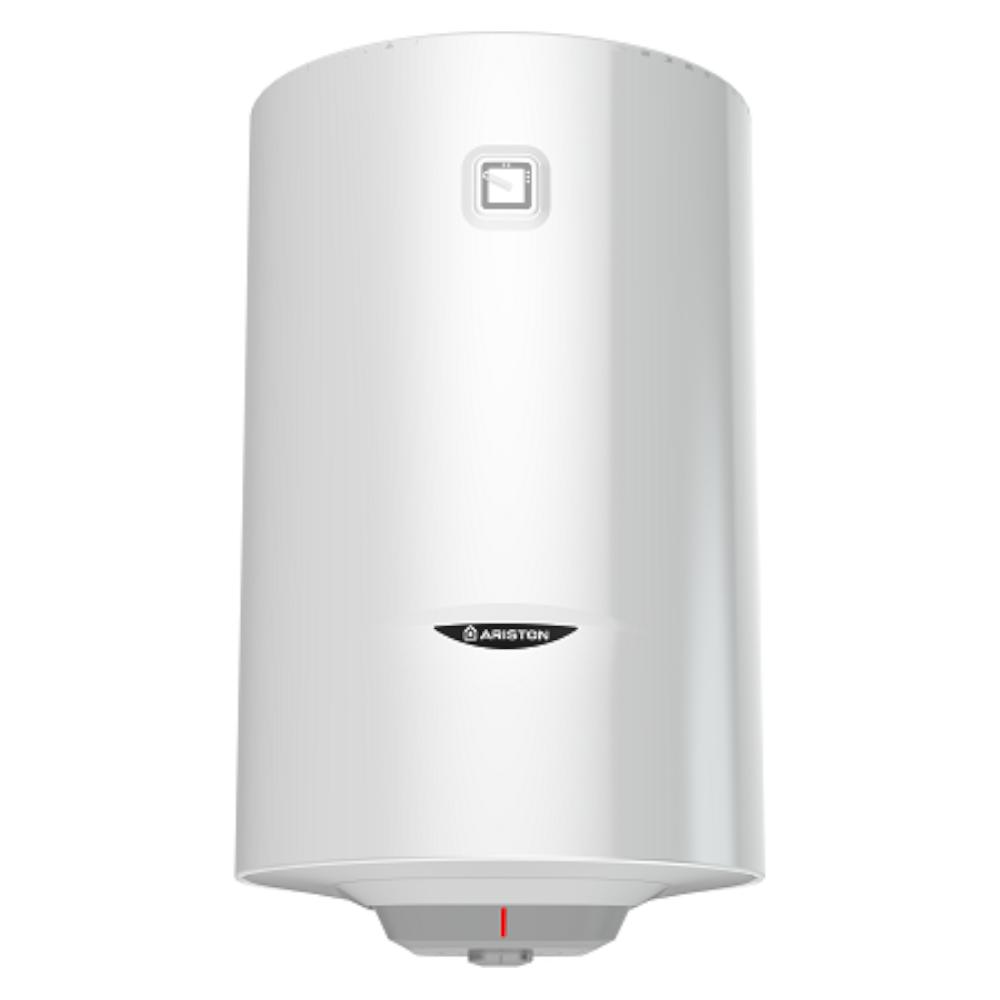 Boiler termoelectric Ariston Pro R 80 VDT, cu serpentina, 80 l, 1800 W, alb, diametru 45 cm, lungime 75,8 cm imagine 2021 mathaus
