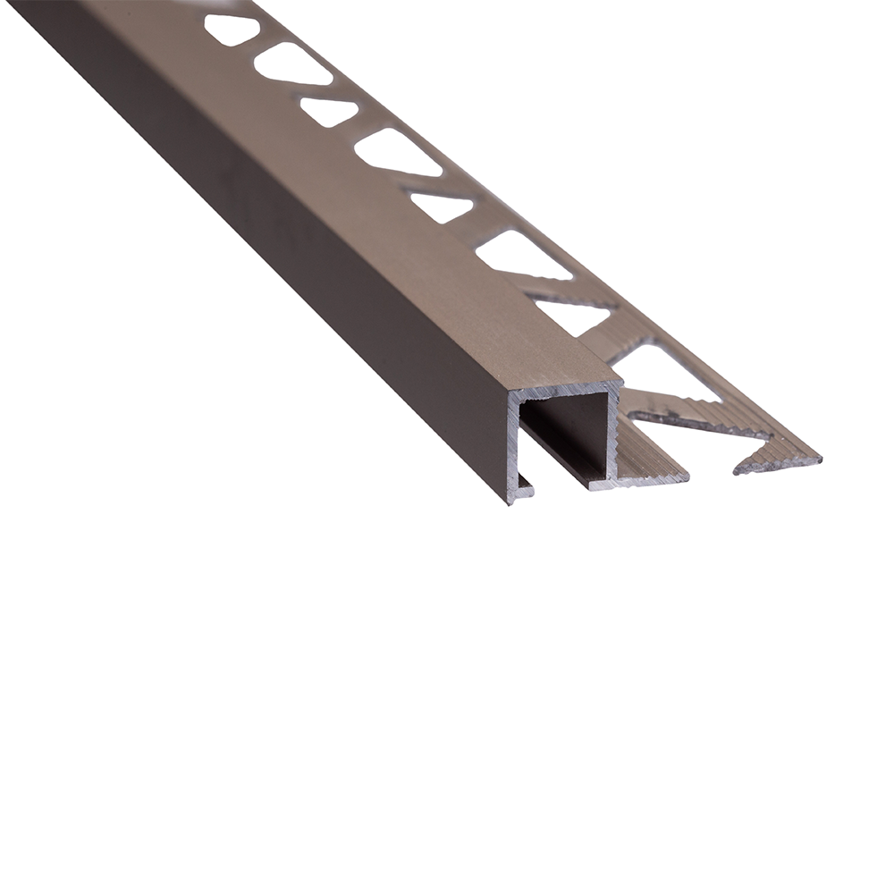 Profil de terminatie pentru parchet Set Prod S88 aluminiu, oliv, 10 mm