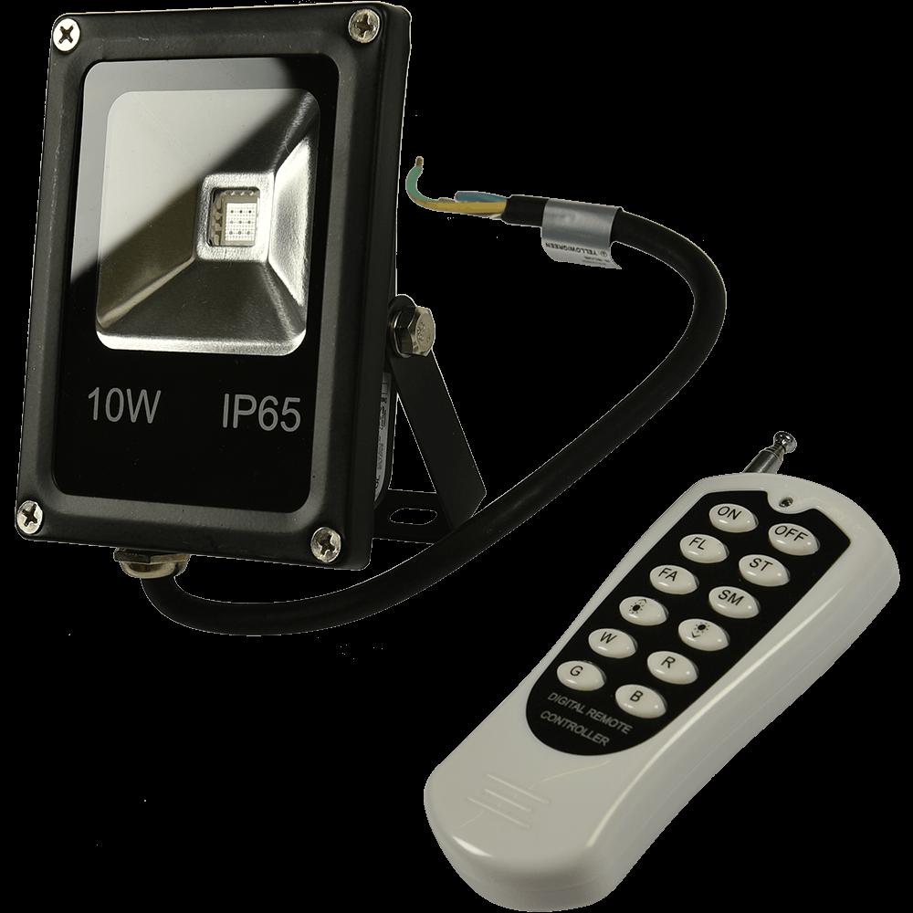PROIECTOR SIMETRIC LED 10W-RGB TELEC. imagine 2021 mathaus