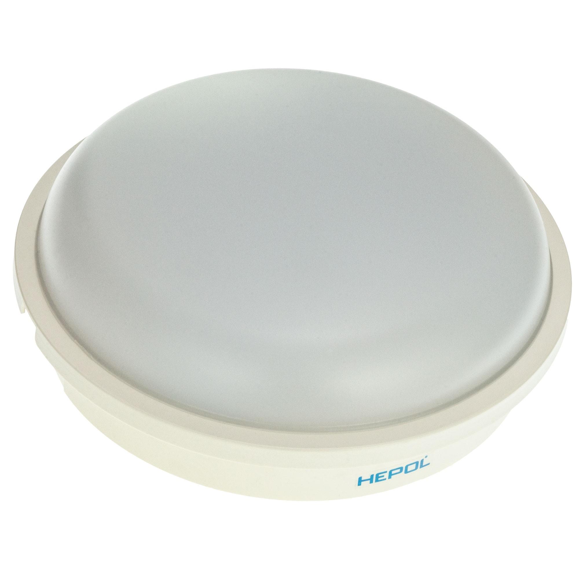 Aplica rotunda exterior Hepol, 1 x LED, 20W