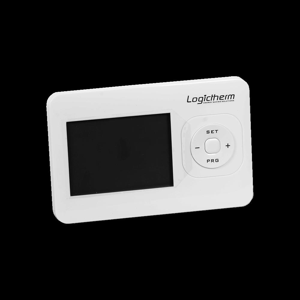 Termostat de ambient pentru centrala, cu fir, programabil, Logictherm R7, digital, 230 V mathaus 2021