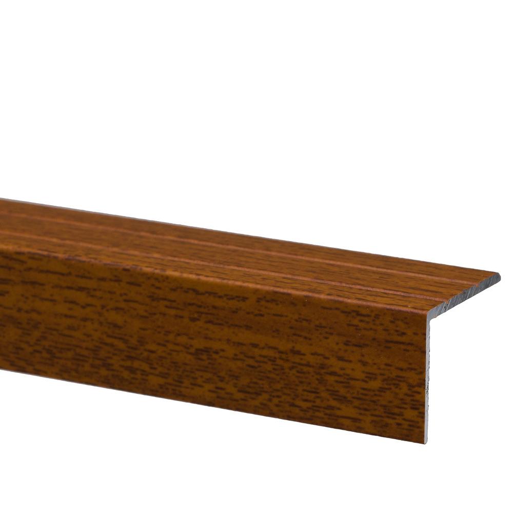 Profil pentru treapta cu surub Set Prod S45 cu latime 25 mm, lemn exotic, 3 m imagine 2021 mathaus