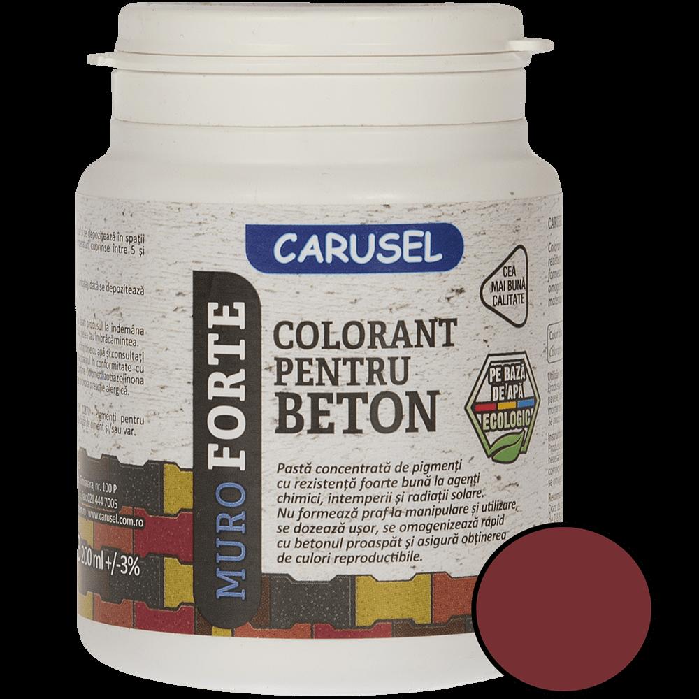 Colorant pentru beton rosu 200 ml imagine MatHaus.ro