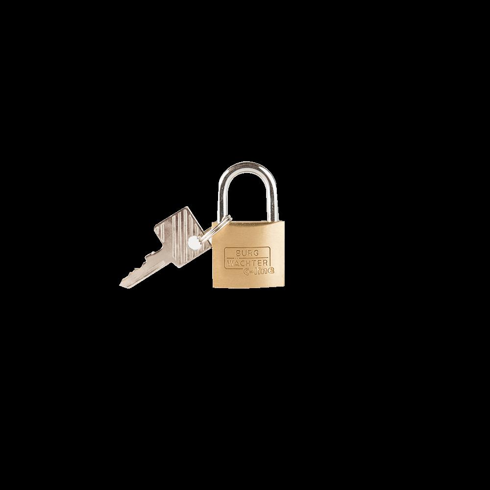 Lacat din alama, Burg Wachter 222 C-Line, l 25mm, 2 chei mathaus 2021