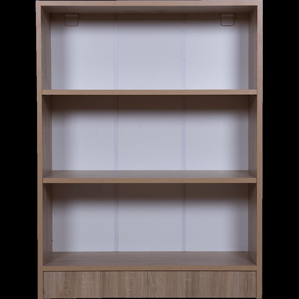 Dulap cu rafturi pal melaminat, sonoma, 80 x 28 x 106 cm imagine MatHaus.ro