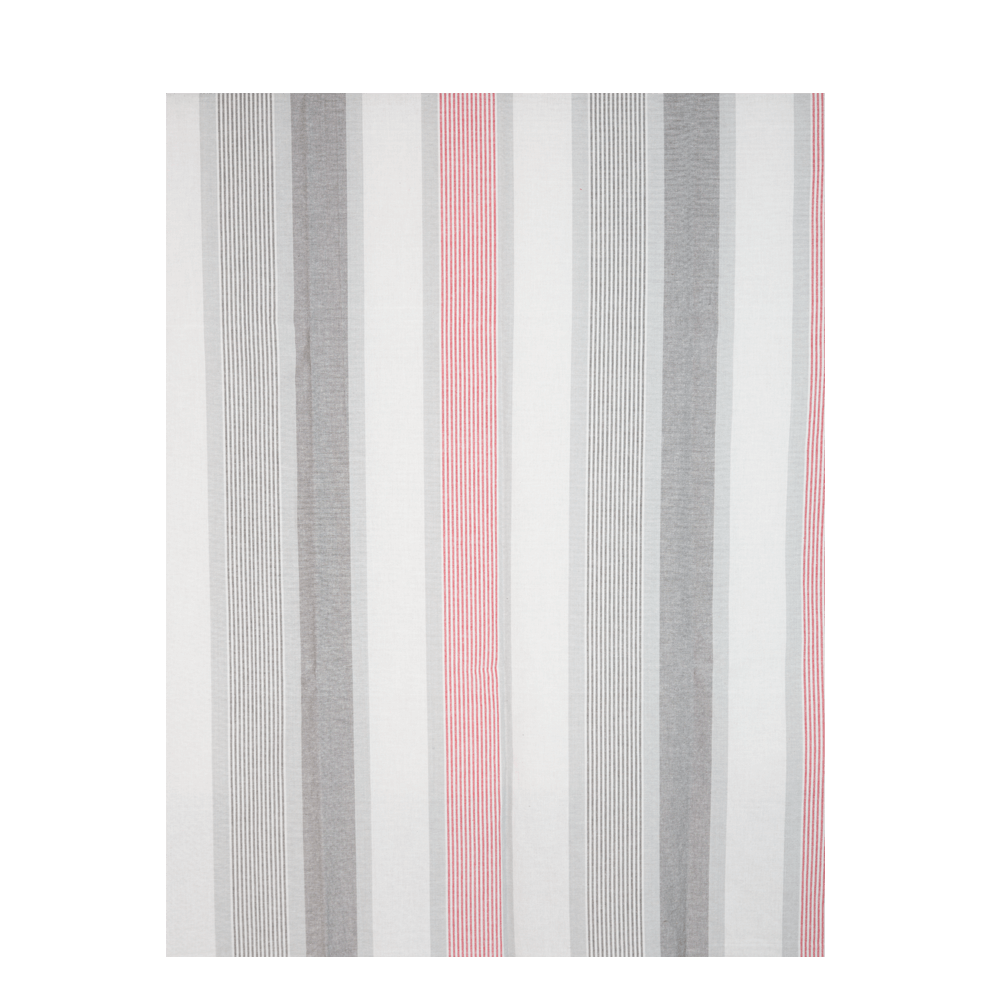 Cuvertura pat Vintage, gri / rosu, 140 x 220 cm, 100% bumbac mathaus 2021