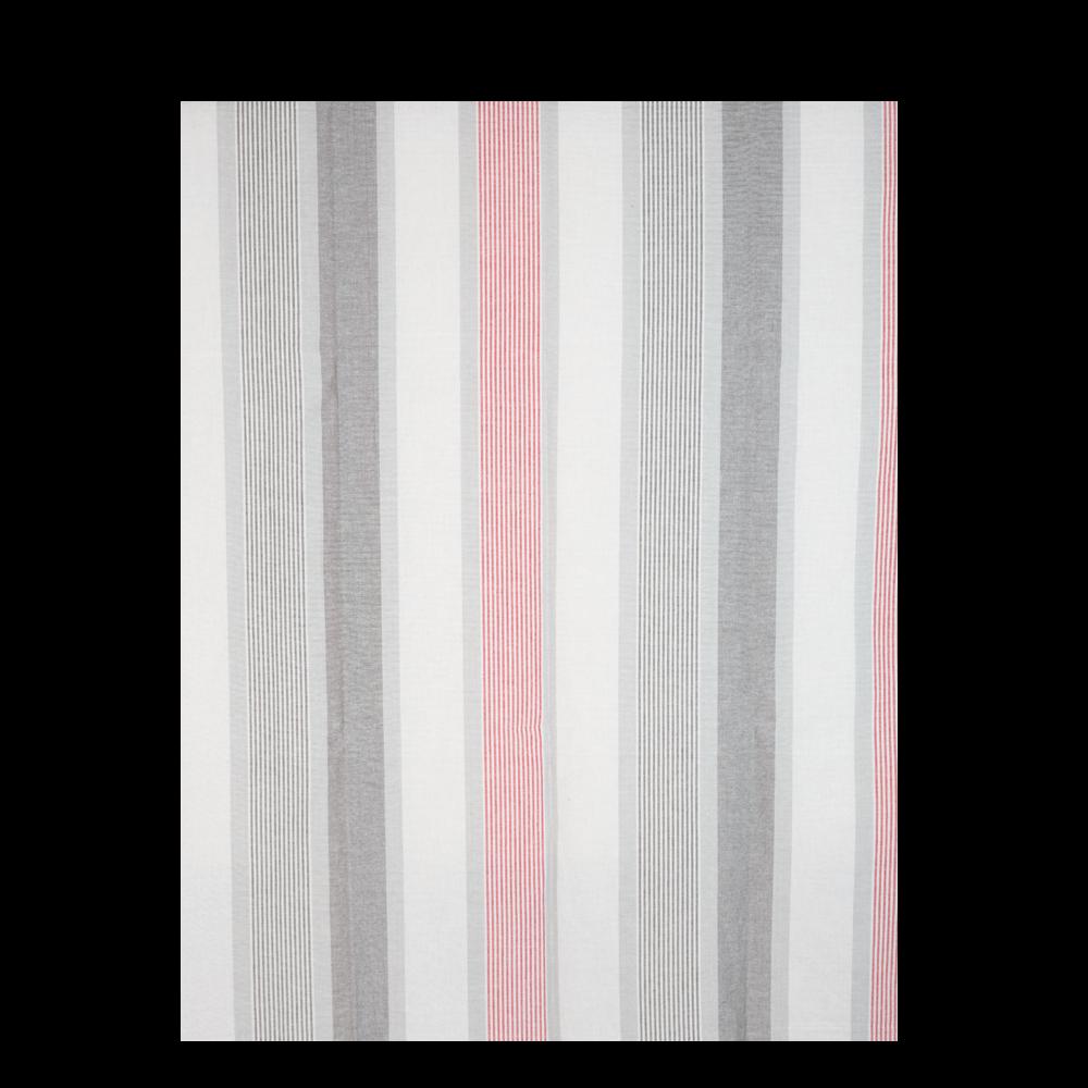 Cuvertura pat Vintage, gri / rosu, 140 x 220 cm, 100% bumbac imagine MatHaus.ro