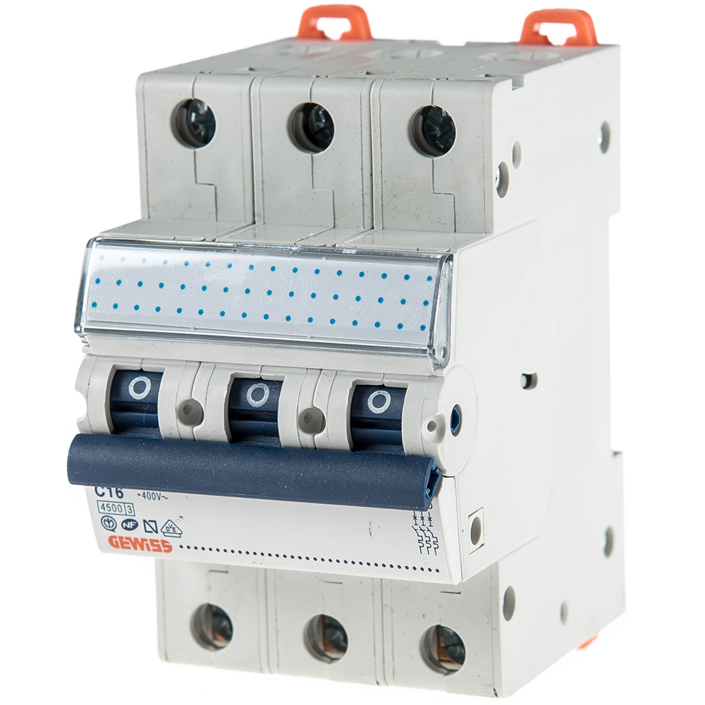 Disjunctor MCB 3P 4.5KA C16 GW92168 imagine MatHaus.ro