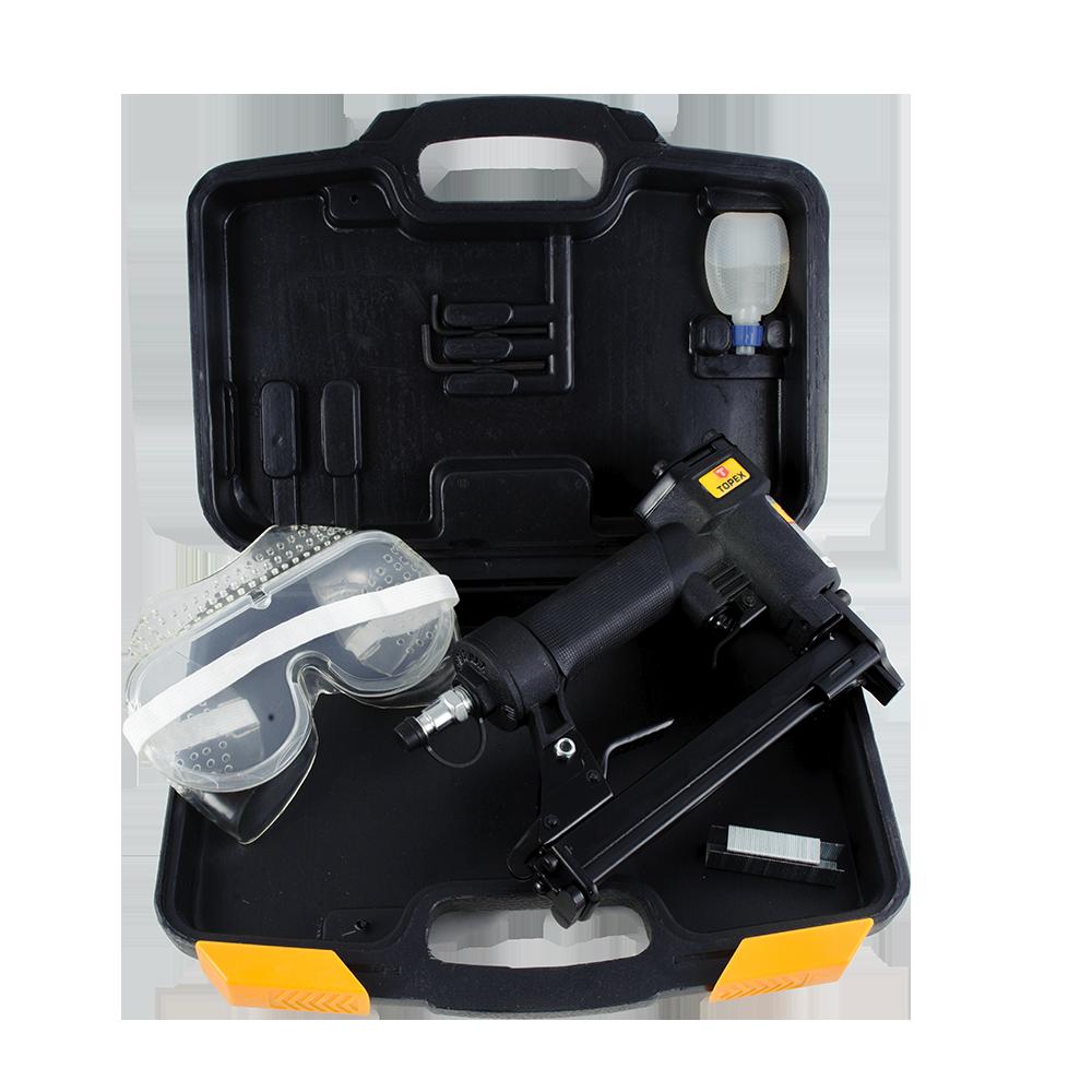 Capsator pneumatic, Topex 74L232, pentru tapiterie, capse 80, 6-16 mm mathaus 2021