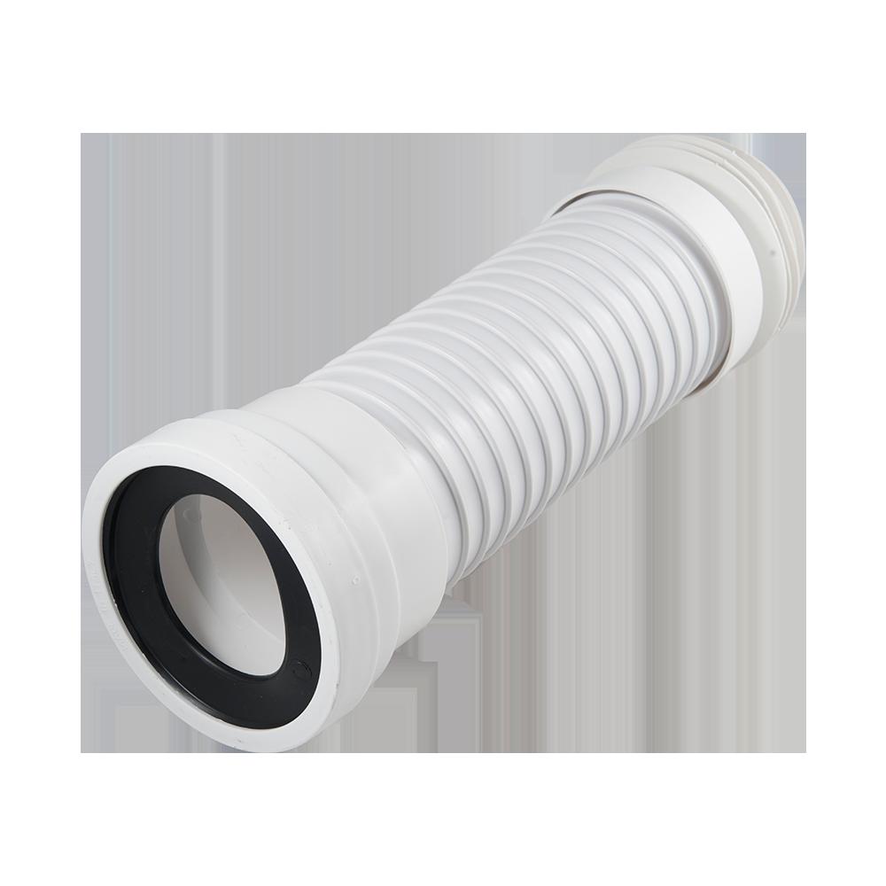 Racord WC Gobe, flexibil, extensibil, plastic, 40 cm