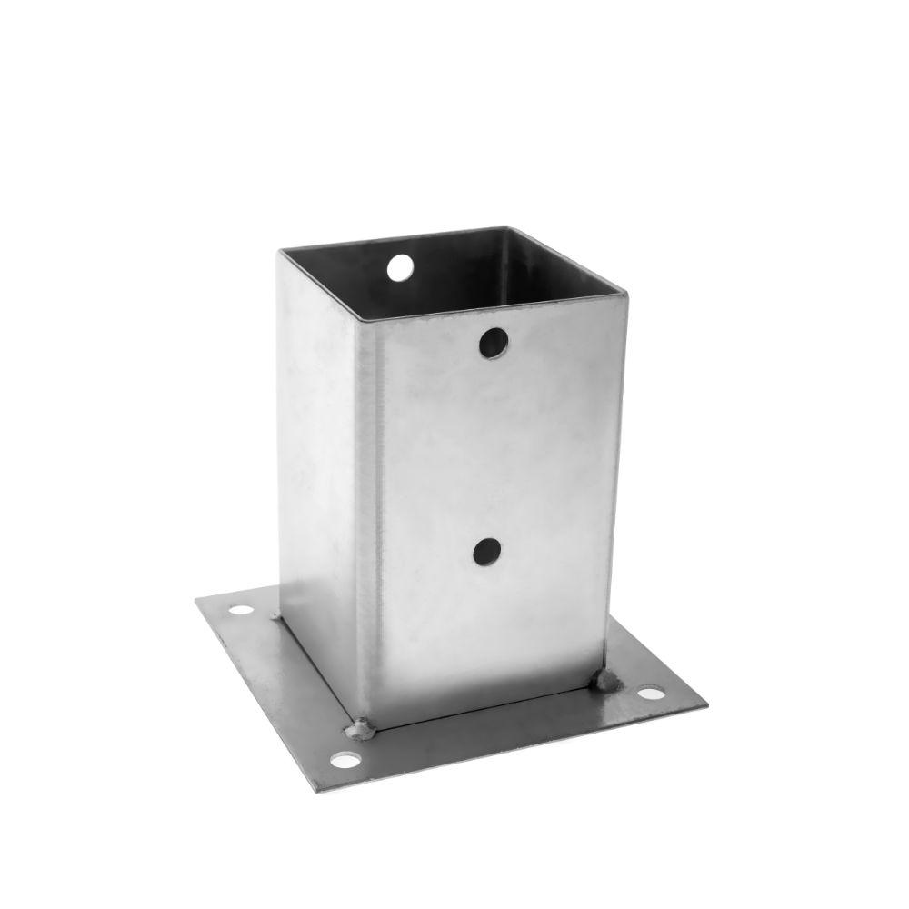 Camasuiala aplicata, tabla din otel zincat, 101 x 101 x 150 mm imagine 2021 mathaus