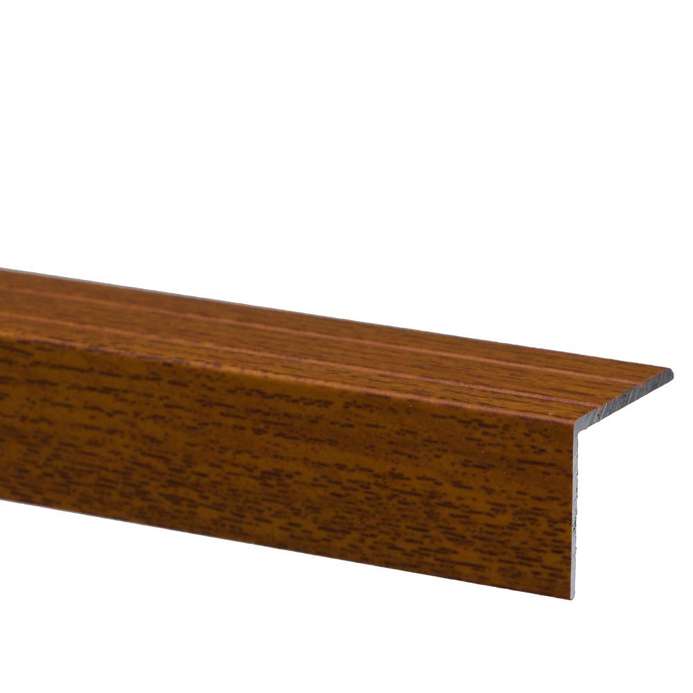 Profil pentru treapta cu surub Set Prod S45 cu latime 25 mm, lemn exotic, 1 m imagine 2021 mathaus