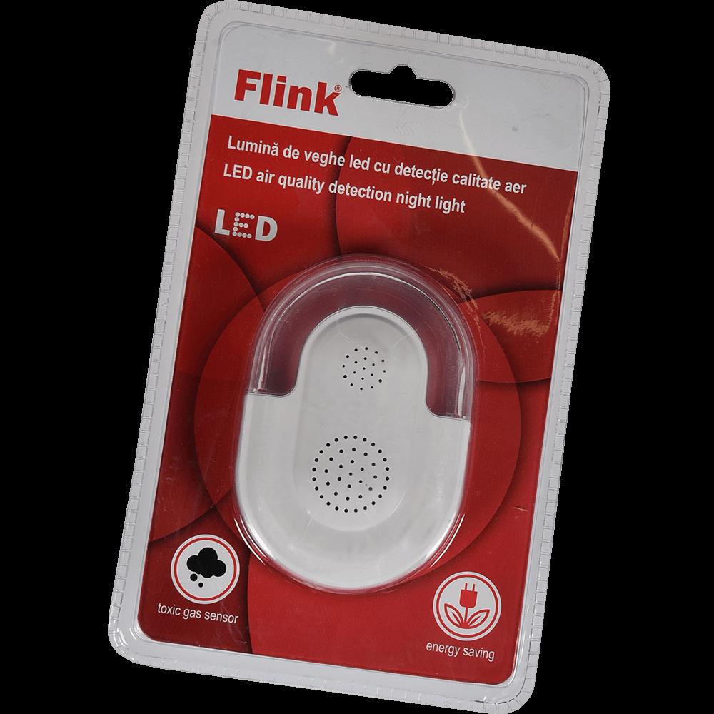 Lampa de veghe Flink 2 LED-uri, cu detectie a calitatii aerului, utilizare la interior imagine 2021 mathaus