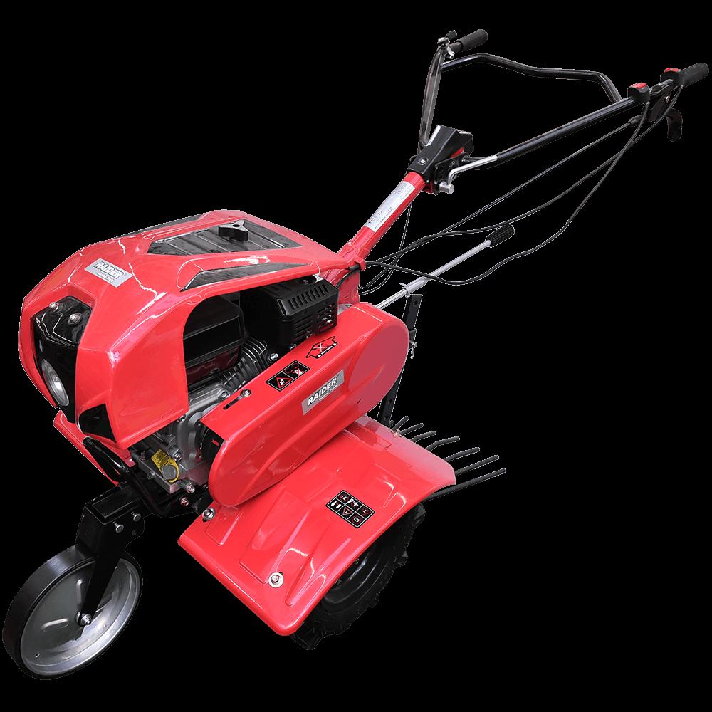 Motocultor Raider RD-T07, 7 CP, 2+1 viteze cu accesorii si far mathaus 2021