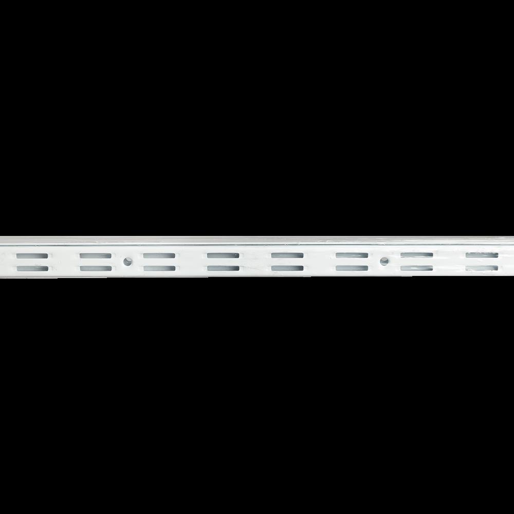 Vergea verticala, alb, H: 2000 mm imagine MatHaus.ro