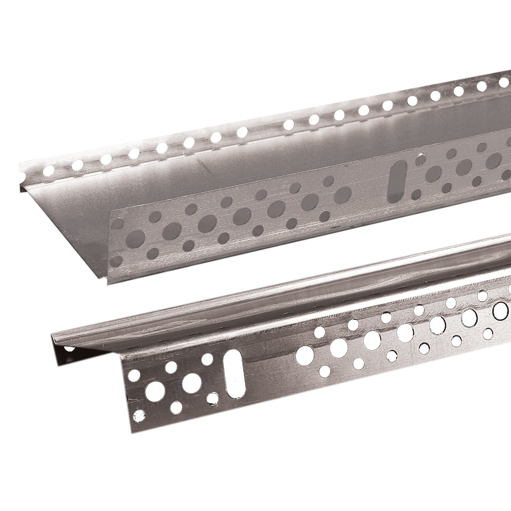 Profil pentru soclu, metal, 100 x 2000 mm