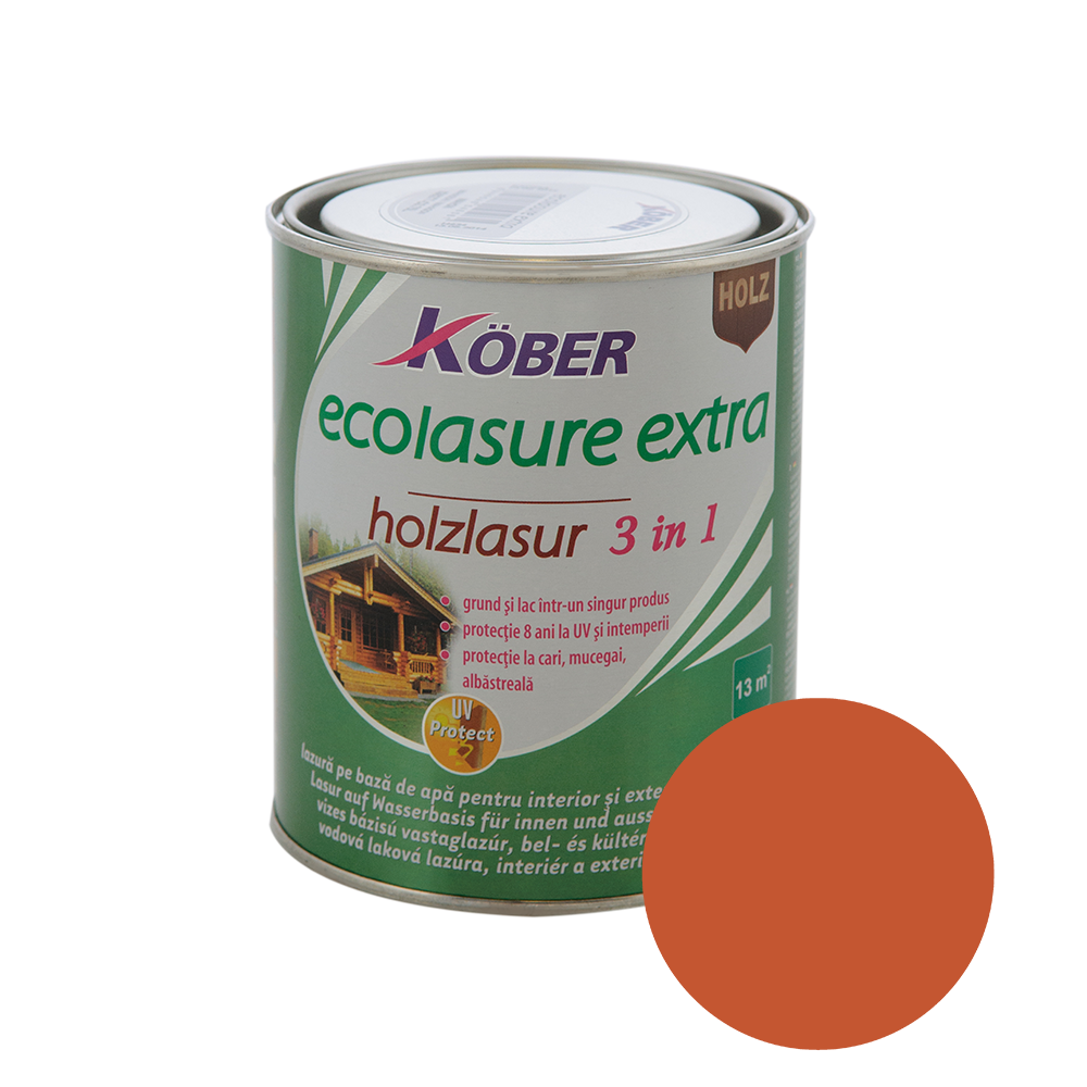 Email Kober Ecolasure Extra 3 in 1, mahon 0,75 l