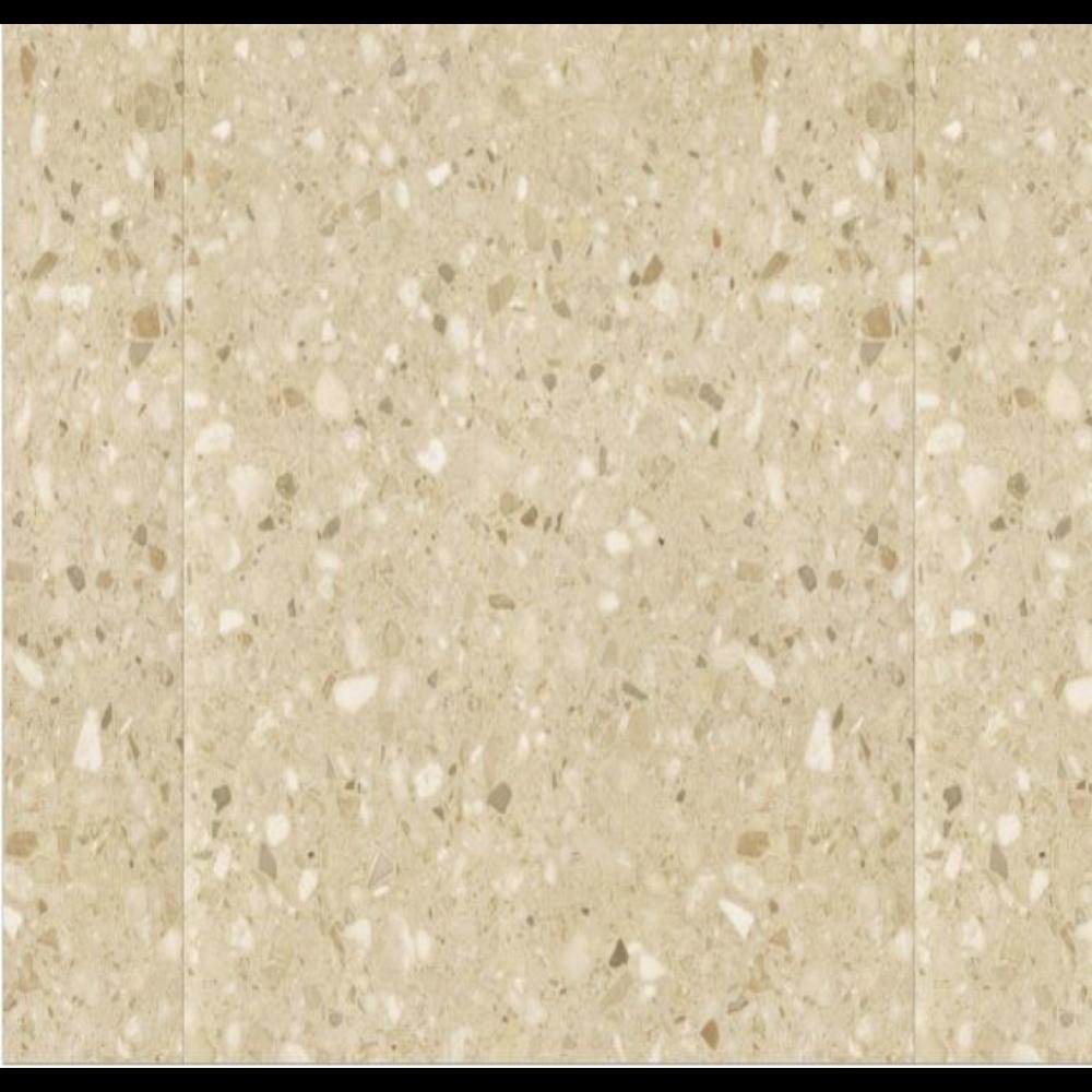 Gresie portelanata Dura Tiles Terrazo PEI 4, bej mat, patrata, 60 x 60 cm mathaus 2021