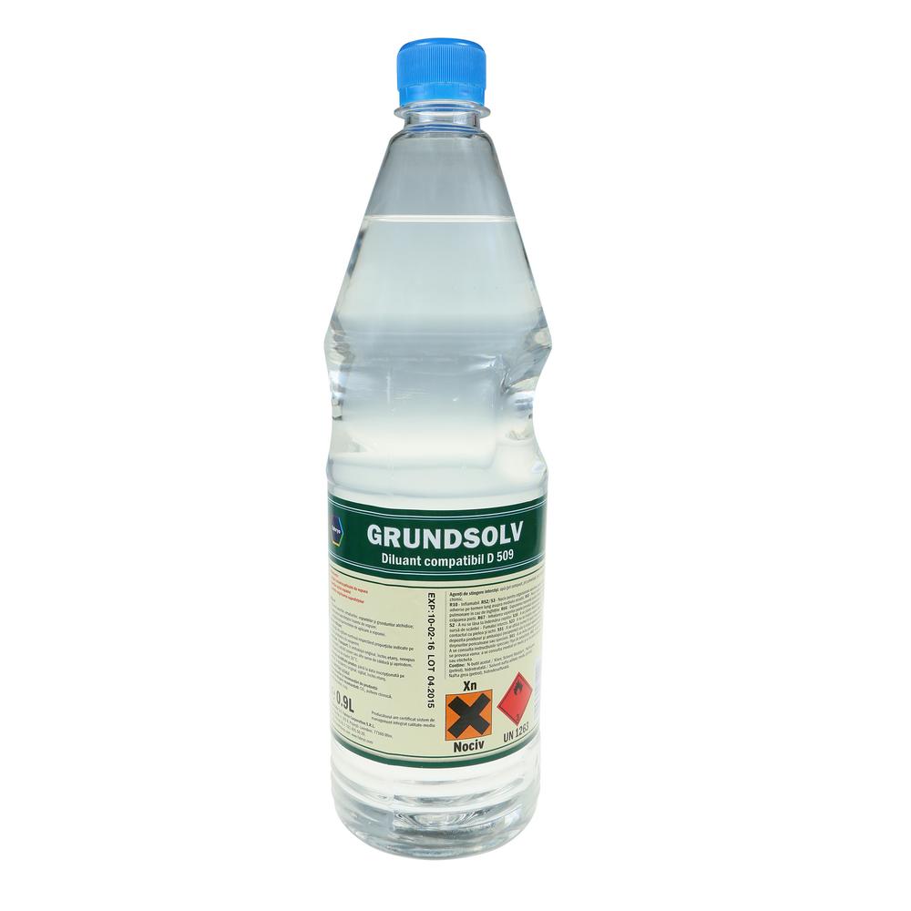 Diluant pentru vopsea/lac Grundsolv, 0.9L
