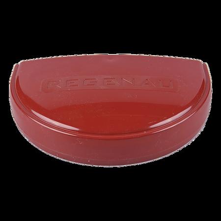 Capac jgheab PVC Regenau, 125 mm, rosu RAL 3011