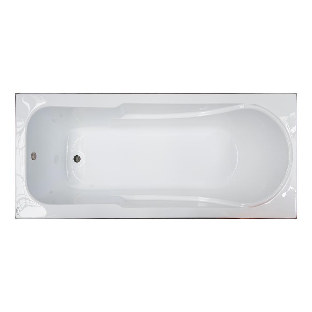 Cada baie Siena, acril sanitar, alb, 160x70x39 cm