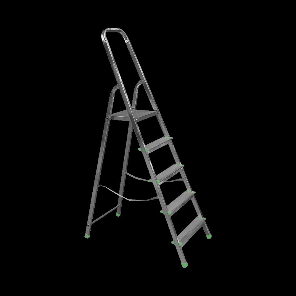 Scara aluminiu, 5 trepte cu urcare pe un tronson imagine 2021 mathaus