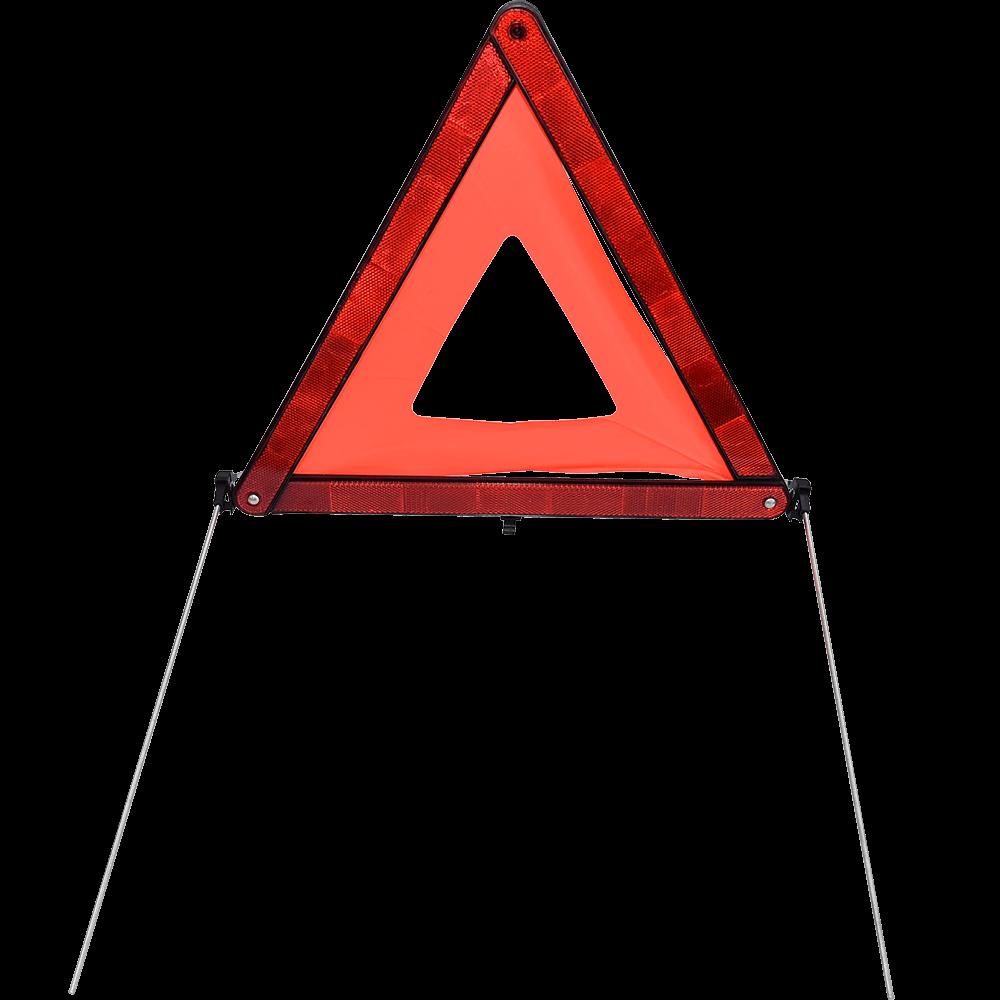 Triunghi pentru presemnalizare avarie, fluorescent-reflectorizant, omologat international mathaus 2021