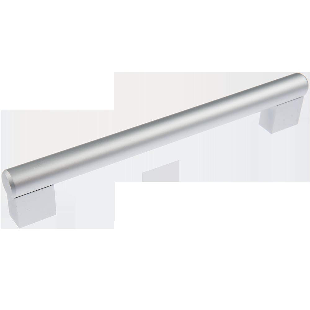 Maner AA315 192 mm, aluminiu mat imagine MatHaus.ro