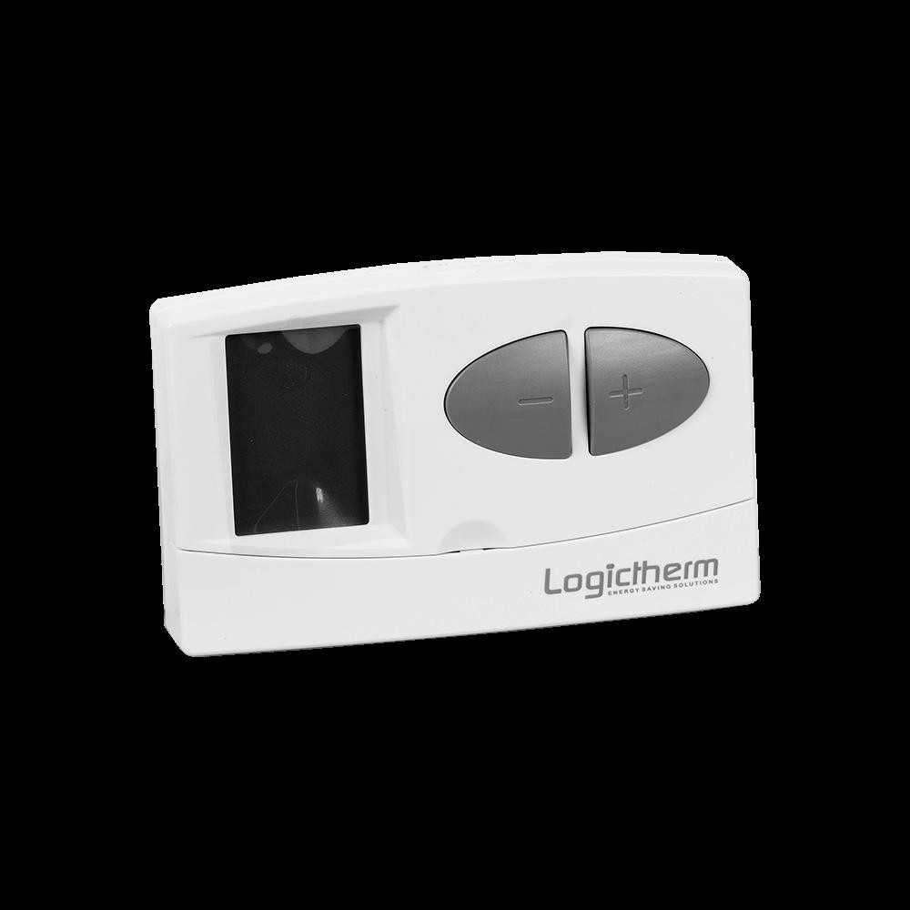 Termostat de ambient pentru centrala, cu fir, Logictherm C7, programabil, digital, 230 V mathaus 2021