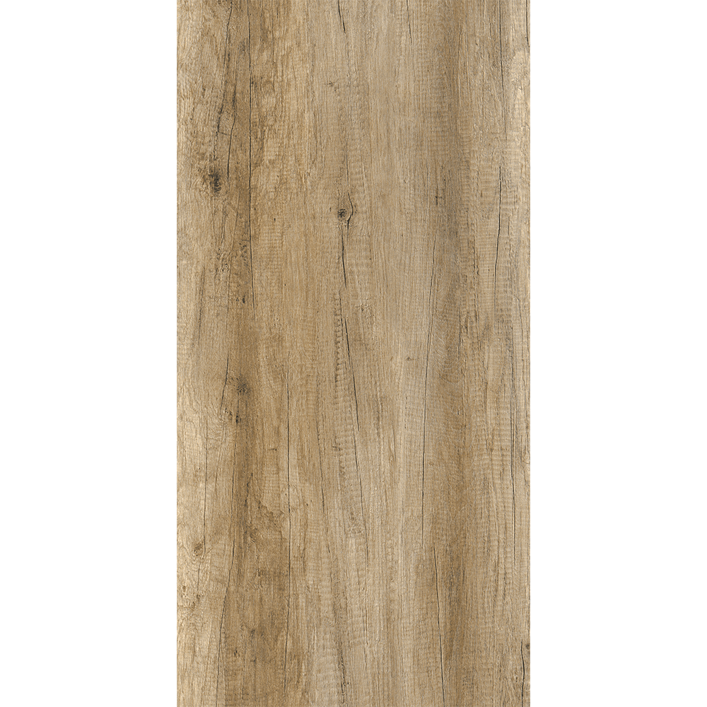 Gresie tip parchet, interior, portelanata maro Kai Ceramics Piraeus, aspect lemn, finisaj vintage, 30 x 60 cm