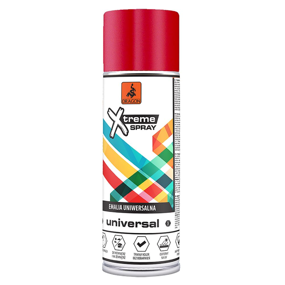 Vopsea spray universala X-Treme, rosu RAL 3002, 400 ml imagine MatHaus.ro