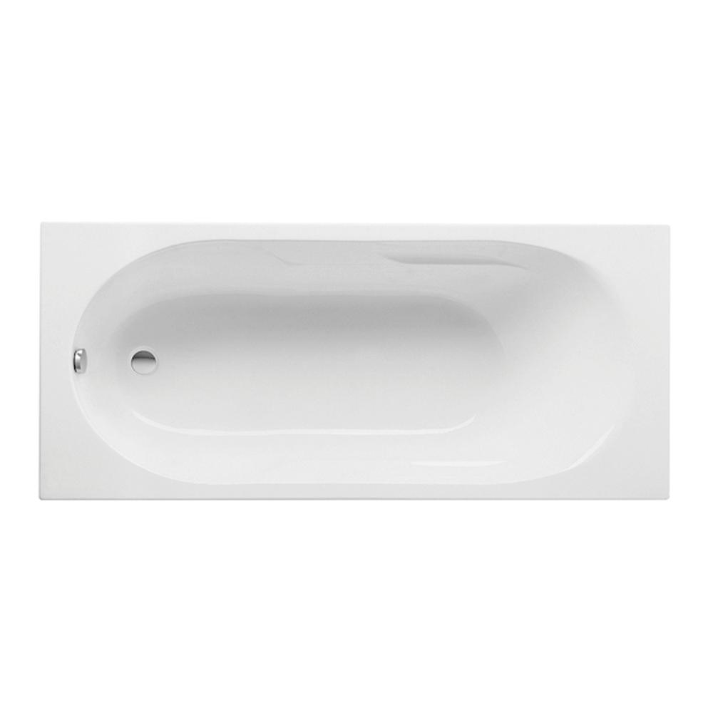 Cada baie dreptunghiulara Roca Tazia, acril, alb, 1700 x 700 mm