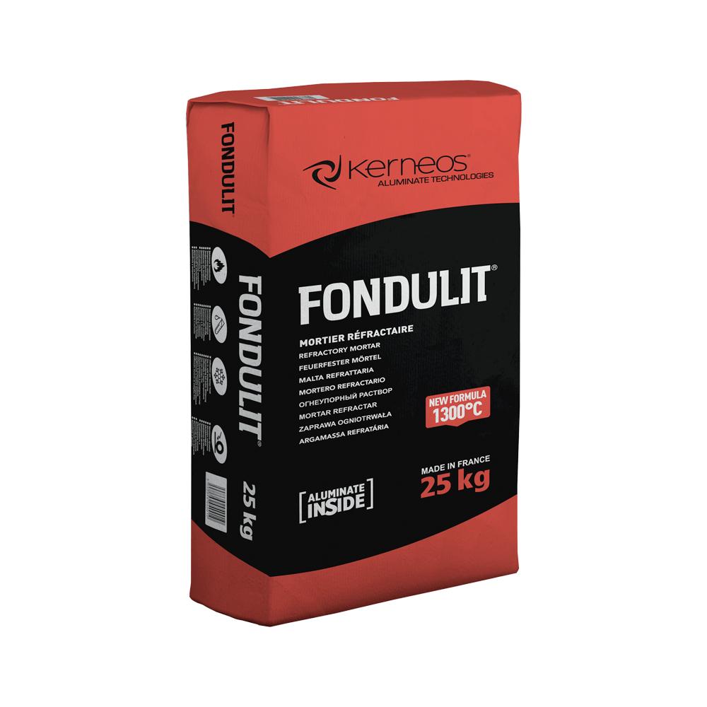 Mortar refractar Fondulit, intarire rapida, pentru medii corozive si acide, 25 kg imagine 2021 mathaus