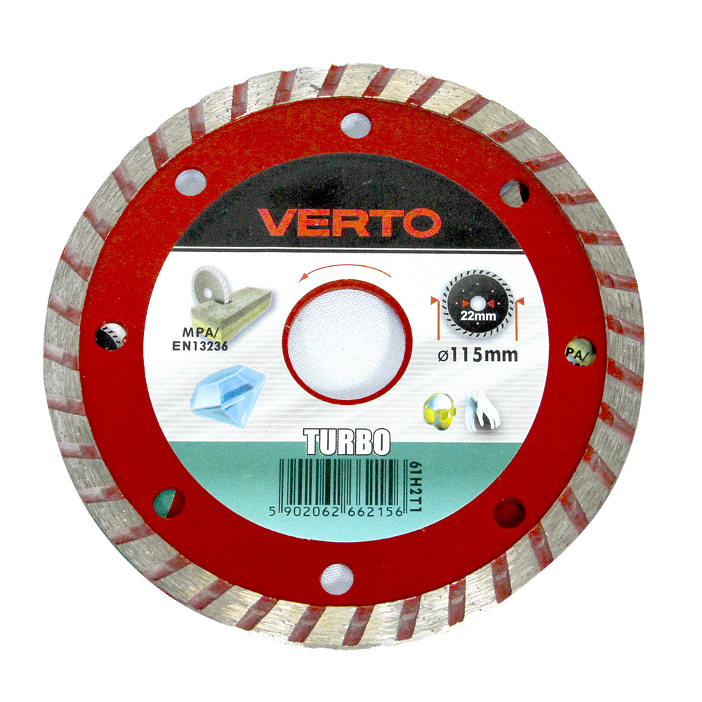 Disc Diamantat Turbo Verto 61H2T1 115 mm mathaus 2021