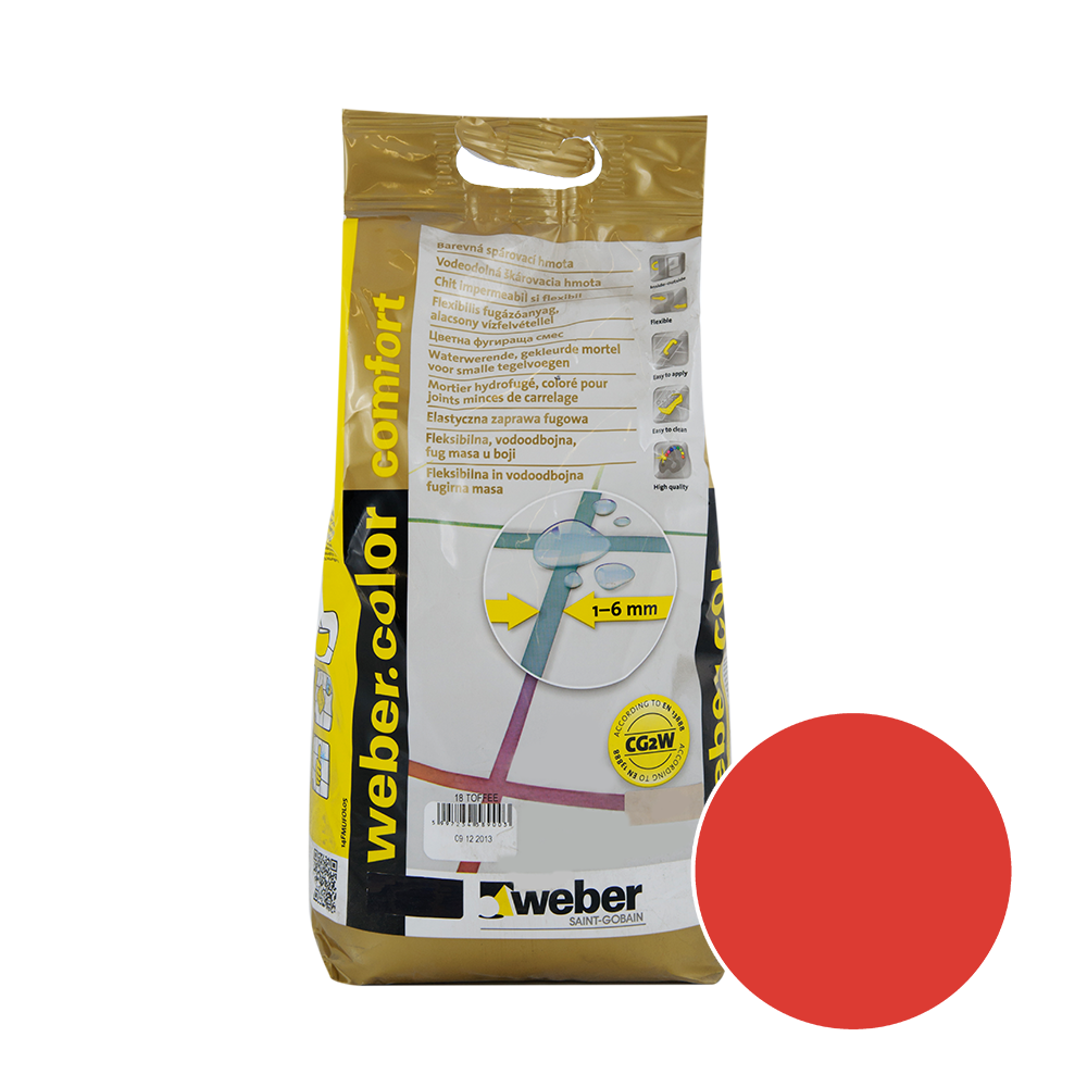 Chit de rosturi Weber Color Comfort, chili, 2 kg imagine 2021 mathaus