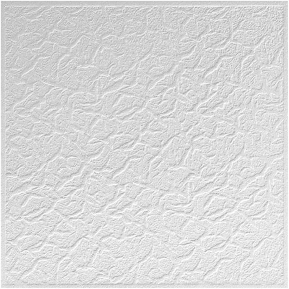 Plafon decorativ Targoviste, polistiren expandat, 50 x 50 cm x 6 mm imagine 2021 mathaus