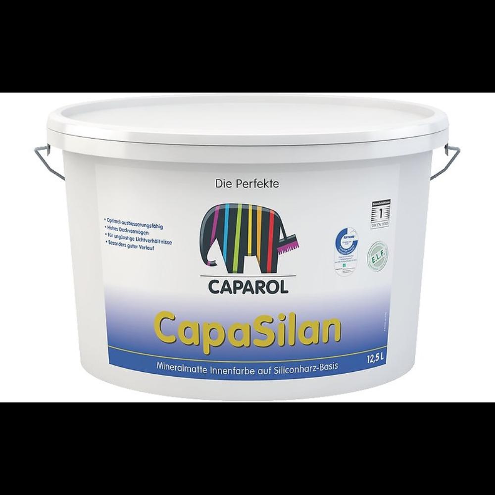 Vopsea lavabila interior, Caparol/Capasilan, alba, 12,5 L